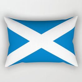 flag of scotland – scotland,scot,scottish,Glasgow,Edinburgh,Aberdeen,dundee,uk,cletic,celts,Gaelic Rectangular Pillow