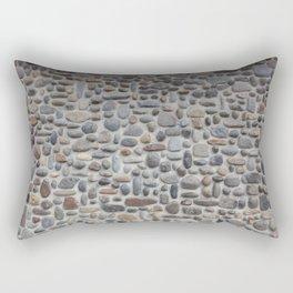 Mosaic Stone Wall Rectangular Pillow