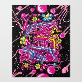 Bubble Gum Saturdays Canvas Print