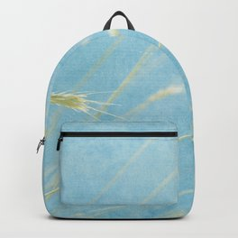 Waves of Grass Aqua Sky Oats Backpack