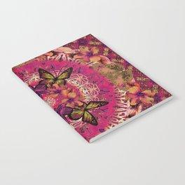 Victoria Mandala Collage Notebook