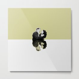 Cristina and Owen Metal Print