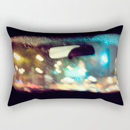 Color Babble Rectangular Pillow