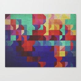 Quartier (ANALOG Zine) Canvas Print