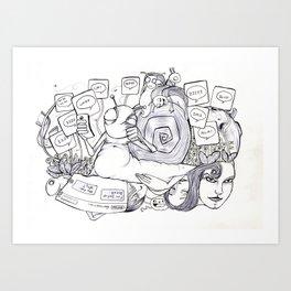 Project 5 Ge Art Print