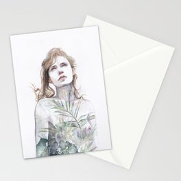 Breathe in, breathe out Stationery Cards