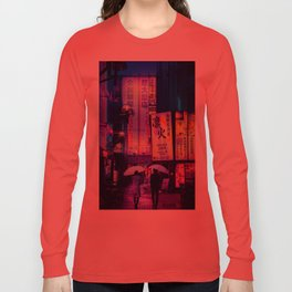 Tokyo Nights / Valentines Day / Liam Wong Long Sleeve T-shirt