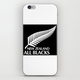 All Blacks iPhone Skin