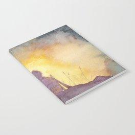 47 Sunsets Notebook