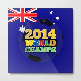 2014 World Champs Ball - Australia Metal Print