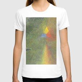 Les Origines, Rainbow and Pyramids landscape by Paul Serusier T-shirt