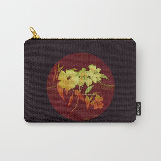 floral in Asian feel Carry-All Pouch