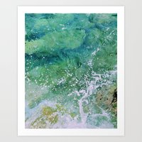 Waves pt. 3 Art Print