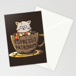 Espresso Patronum Stationery Cards