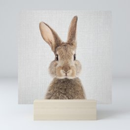 Rabbit - Colorful Mini Art Print