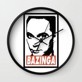 BAZINGA Wall Clock