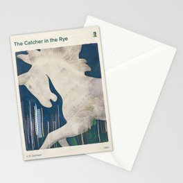 J. D. Salinger's The Catcher in the Rye - Literary book cover design Stationery Cards