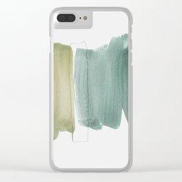 minimalism 5 Clear iPhone Case