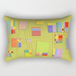 Abstract #47 Rectangular Pillow