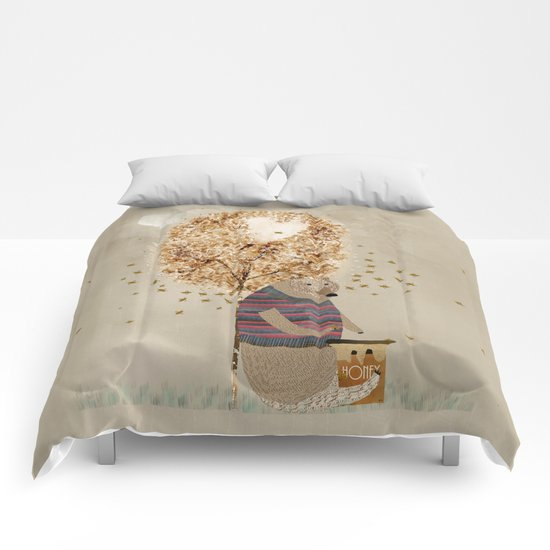 the honey tree Comforters
