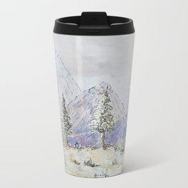 Mountain-scape  Travel Mug