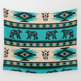 American Native Pattern No. 126 Wall Tapestry