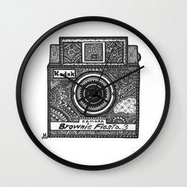 Kodak: Brownie Fiesta 3 Wall Clock