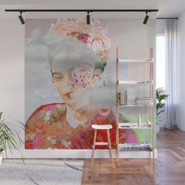 The essence of Frida Wall Mural