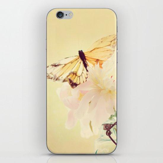 PASTEL PEONY iPhone & iPod Skin