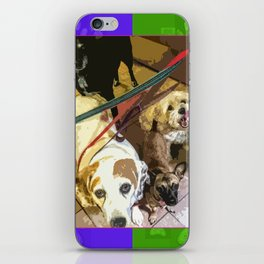 Roz, Buster, Peppy and Jamie iPhone Skin