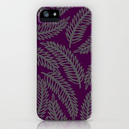 Redwood Leaf  iPhone Case
