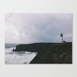 Yaquina Lighthouse Canvas Print