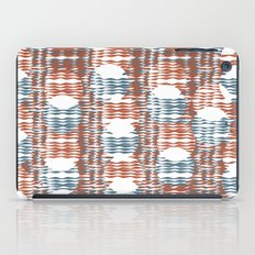 Waves and Circles iPad Case