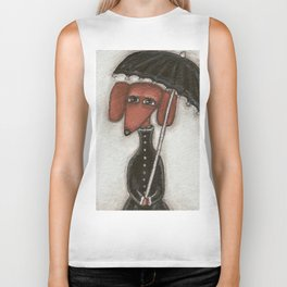 Fee under the umbrella Biker Tank