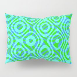 Mixed Polyps Green - Coral Reef Series 037 Pillow Sham