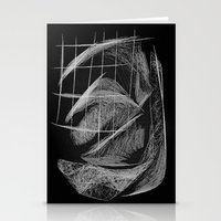 cage Stationery Cards featuring Window/Cage by Paul Kimble