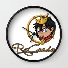Re_Censo official youtube channel design Wall Clock