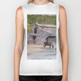 Old Horse Barn Biker Tank