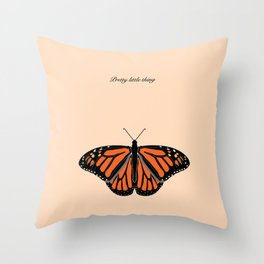 Pretty Little Thing Throw Pillow