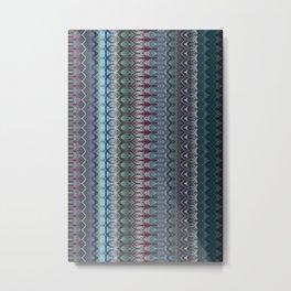 Transitory Waveform Metal Print