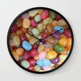 Colourful Jelly Beans Wall Clock