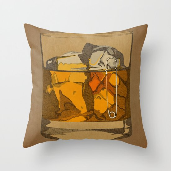 Scotch  Throw Pillow