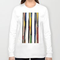 subway Long Sleeve T-shirts featuring Subway by Myles Hunt