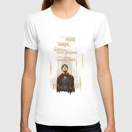 Merlin: Myth and Magic T-shirt
