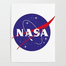 Nasa logo Poster