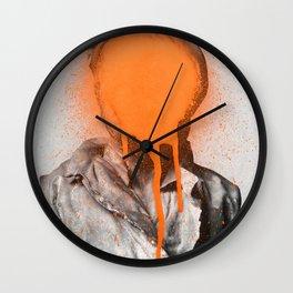 Busted 2 Wall Clock