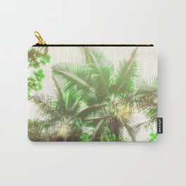Watercolor Tropical Rainforest Carry-All Pouch