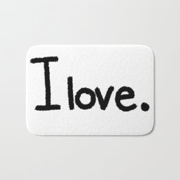 I love. Bath Mat