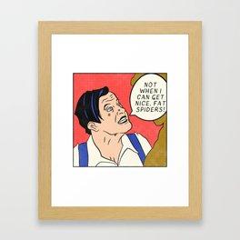 Renfield (Dracula Pop Art) Framed Art Print