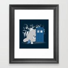 Curious Forest Spirits Framed Art Print